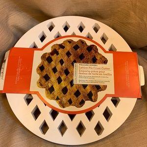 NWT Williams Sonoma Lattice Pie Crust Cutter